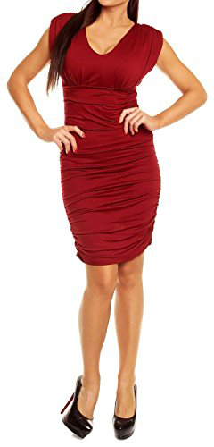 Glamour Empire Body Con Dress