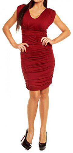 Glamour Empire Body Con Dress