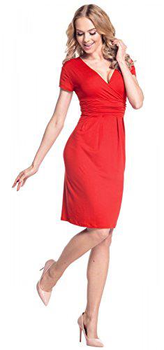 Glamour Empire Short Sleeve Jersey Dress