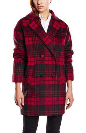 Blend Check Coat Woman