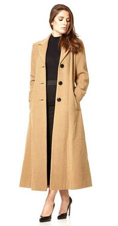 De La Cremè Long Coat Woman