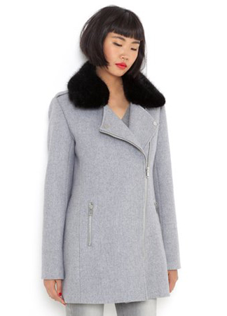 La Redoute Wool Coat Grey
