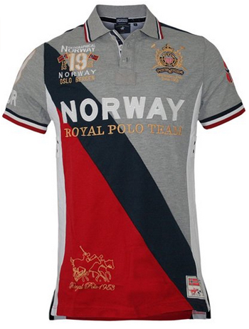 Geographical Norway Korway - Men Royal Polo Shirt