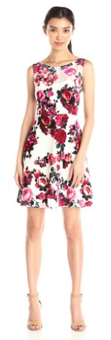 Betsey-Johnson-Women-Floral-Fit-and-Flare-Dress