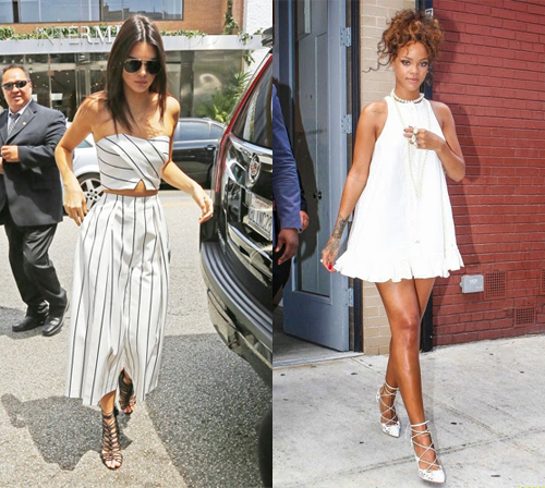 Trend Spring / Summer 2016 - Women Lace Up Sandals
