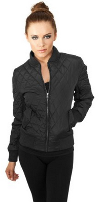 Urban Classics - Ladies Diamond Quilted Jacket
