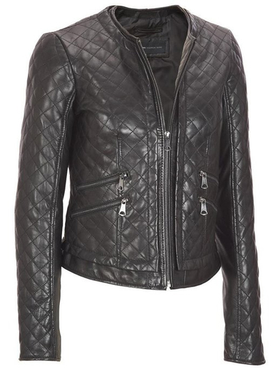 Zohran Leather Jacket