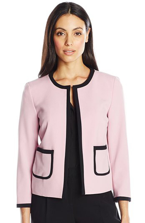 Nine West - Framed Open Jacket