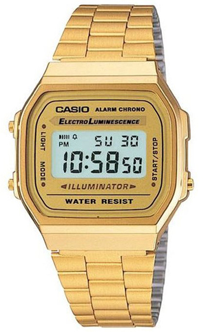 Casio Classic Digital Gold Watch
