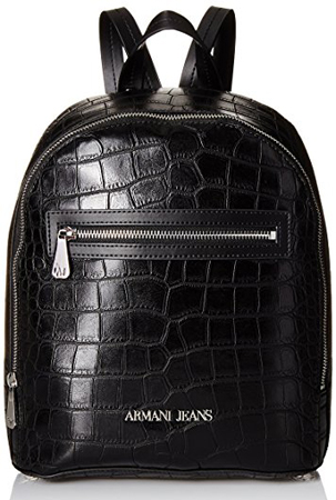 Armani Jeans Crocodile Effect Backpack