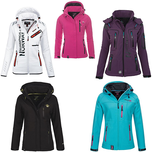 Geographical Norway Softshell Jackets Women