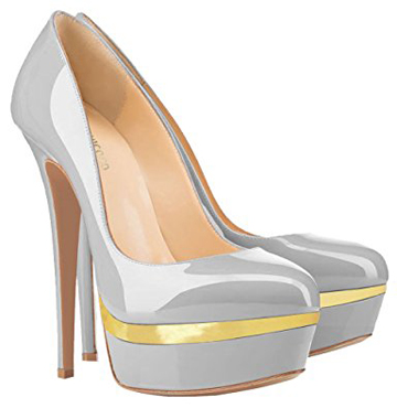 Monicoco Stiletto Pumps With Plateau