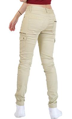 Ana Lucey Slim Skinny Stretch Cargo Trousers