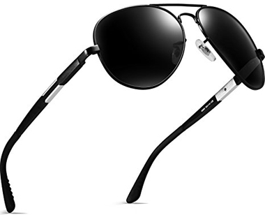 Attcl Aviator Polarized Sunglasses For Men
