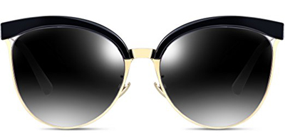 Attcl Cat Eye Aviators Sunglasses For Women