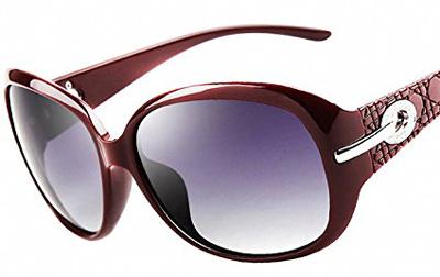 best men's polarized sunglasses zm74  ATTCL Oversized Polarized Sunglasses For Women