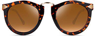 Attcl Polarized Round Arrow Sunglasses For Women