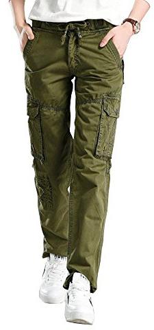 Gooket Straight Leg Cargo Pants