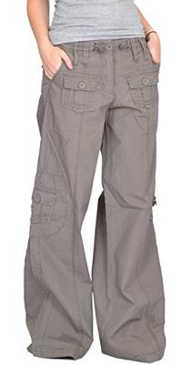 Zelia Wide Leg Cargo Pants