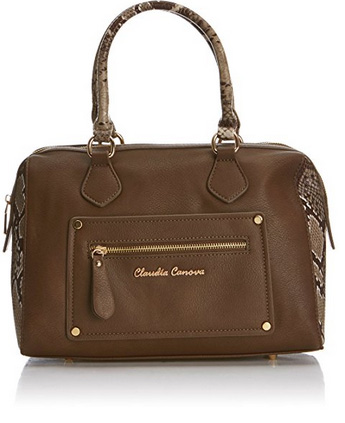 Claudia Canova Barrel Bowling Bag
