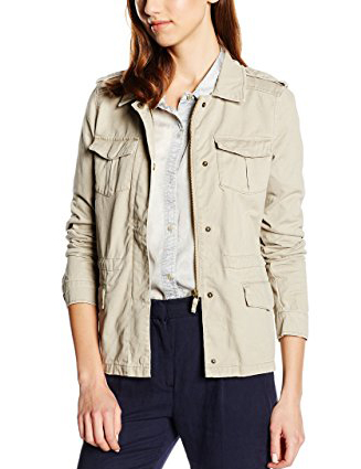 Cortefiel Sahariana Cotton Jacket