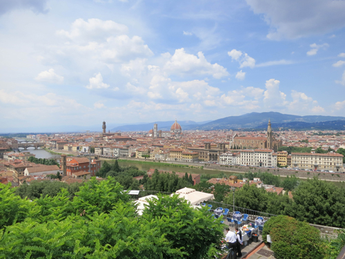 Florence, Piazzale Michelangelo