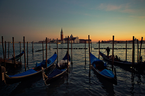 Venice In The Sunset