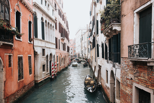 Romantic Italian Destination: Venice