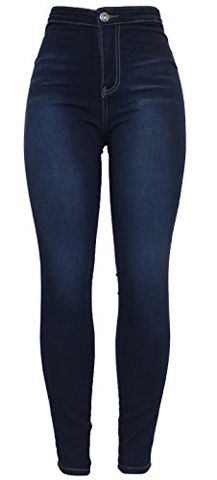 Barfly Fashion High Waisted Stretchy Skinny