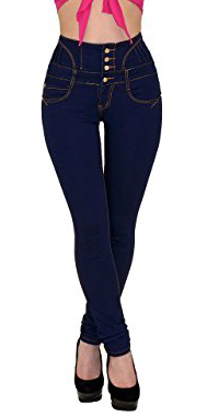 By - Tex Skinny High Waisted Jeans