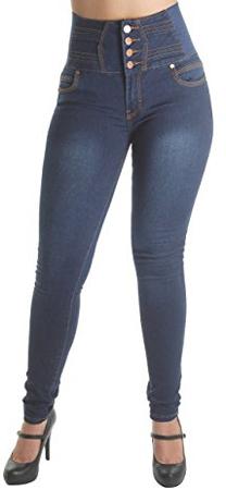 Fashion 2Love Colombian Design High Waist Jeans