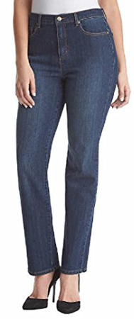 Gloria Vanderbilt Stretch Denim Tapered Leg Jeans