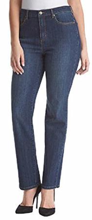 Gloria Vanderbilt Stretch Denim Tapered Leg Jeans