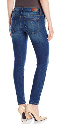 Guess Power Curvy Mid-Rise Jeans