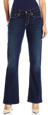 Signature By Levi Strauss And Co. Gold Label Boot Cut Jeans