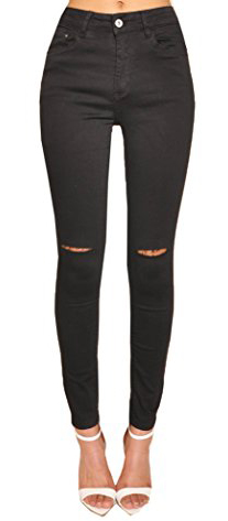 Lily Lulu Disco High Waisted Skinny Jeans