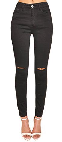 Lily Lulu Disco High Waisted Skinny Jeans