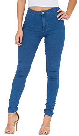 Simply Chic Outlet Skinny High Waist Denim