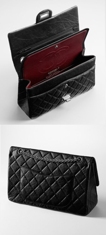 Compartments of the Chanel 2.55