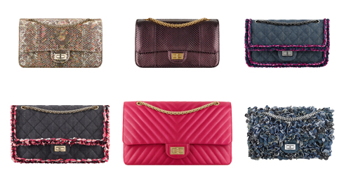 Different Patterns, Colors and Material - Chanel 2.55