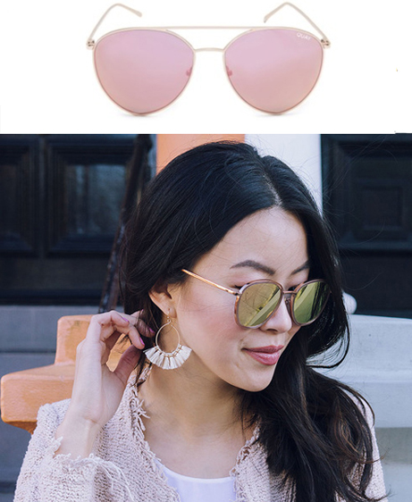 Clic Clac Mirrored Sunnies - Hey Pretty Thing