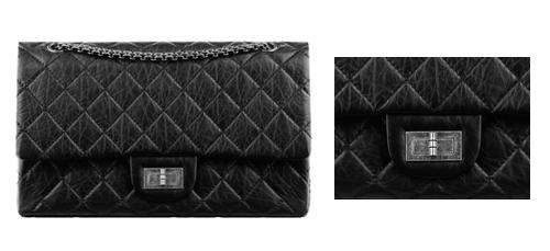 Design Feature Chanel 2.55: Mademoiselle Lock