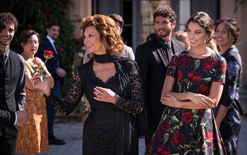 Sophia Loren In Dolce and Gabbana's Perfume Campaign