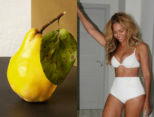 Pear Body Shape - Beyonce