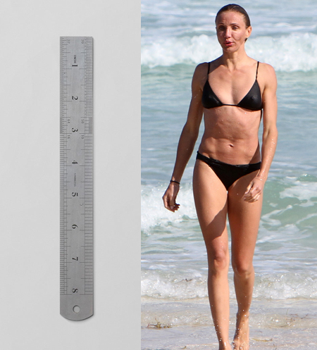Rectangle Body Shape - Cameron Diaz
