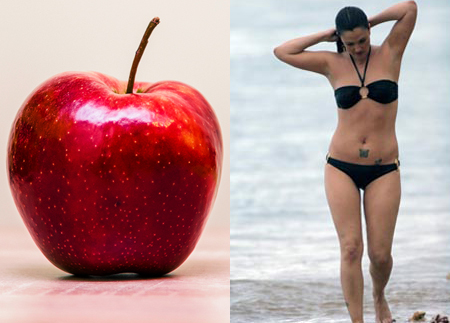 Apple Body Shape - Drew Barrymore