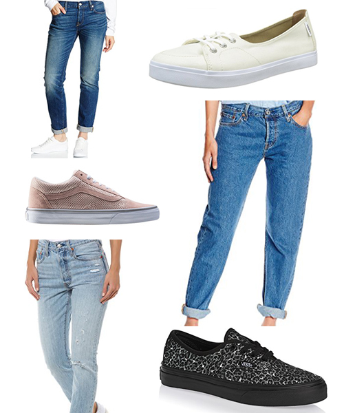Vans and Levi's Outfits
