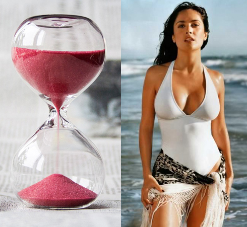 Hourglass Body Shape - Salma Hayek
