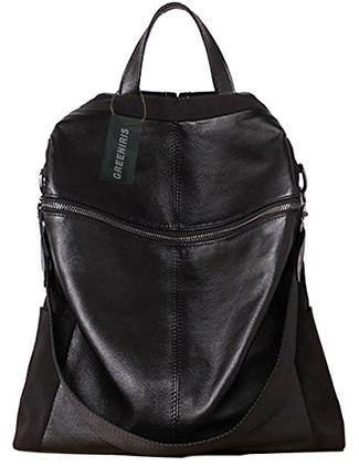 Greeniris Nylon Waterproof Backpack - Shoulder Bag