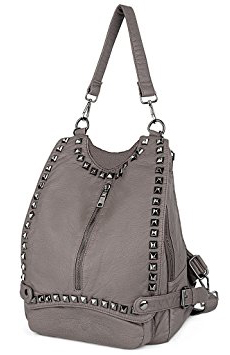 Uto Rivet Studded Backpack - Purse